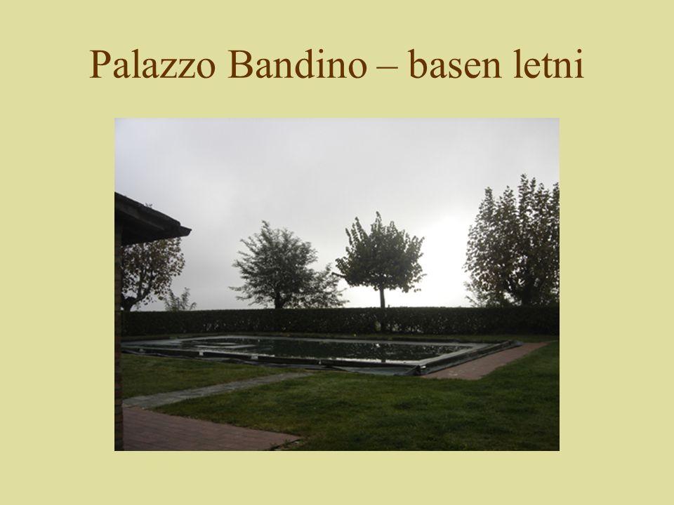 Palazzo Bandino – basen letni
