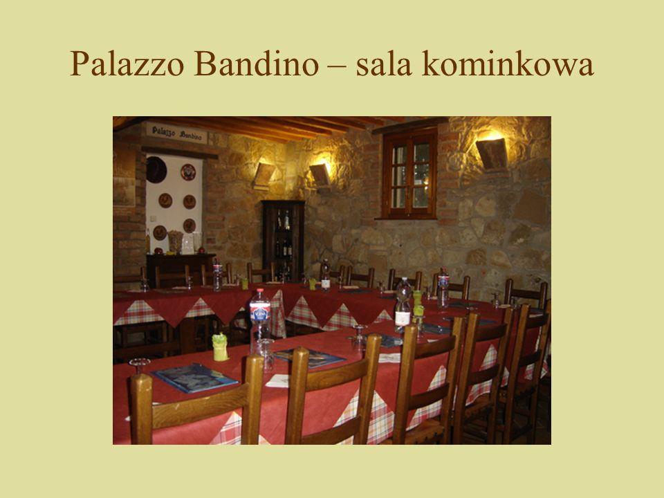 Palazzo Bandino – sala kominkowa