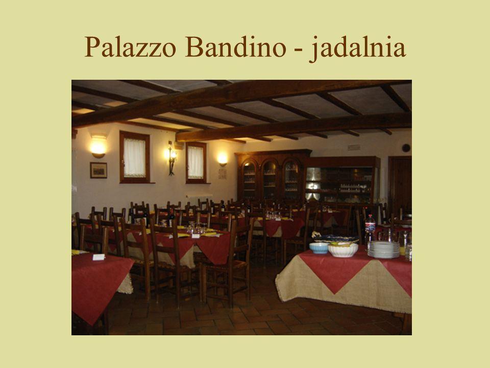 Palazzo Bandino - jadalnia