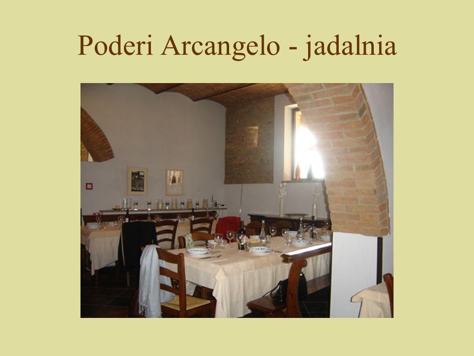 Poderi Arcangelo - jadalnia