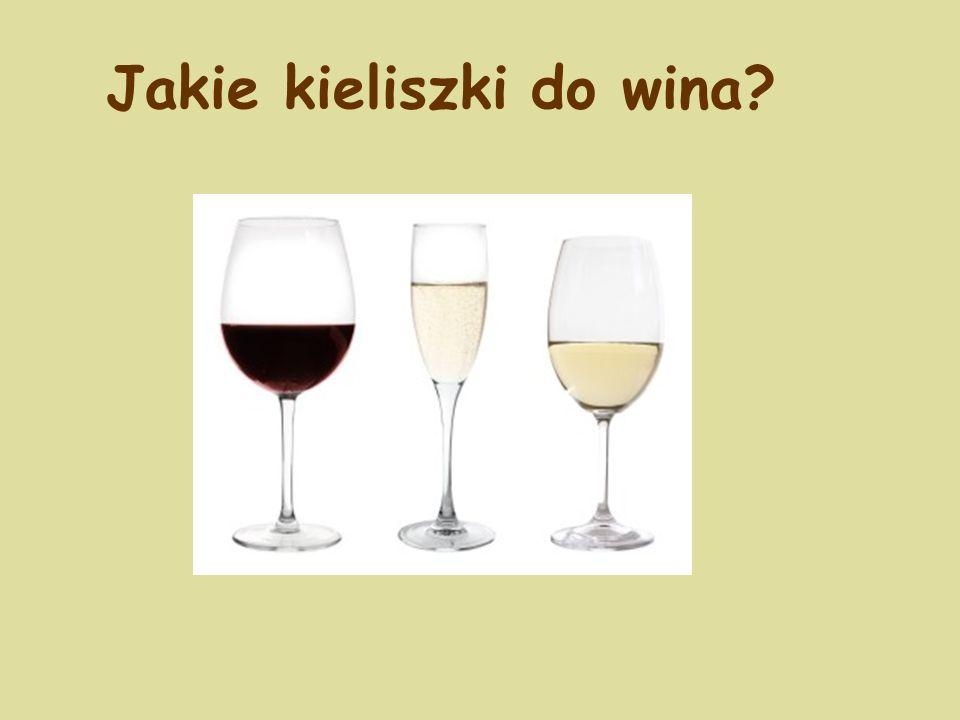 Jakie kieliszki do wina