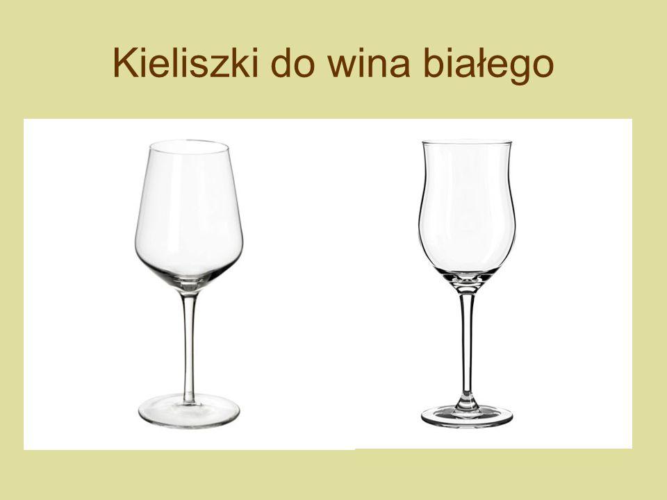 Kieliszki do wina białego