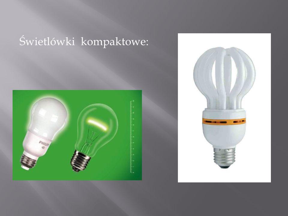 Świetlówki kompaktowe: