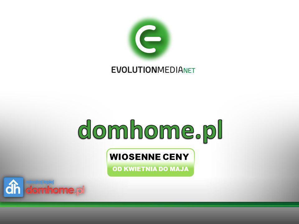 domhome.pl WIOSENNE CENY OD KWIETNIA DO MAJA