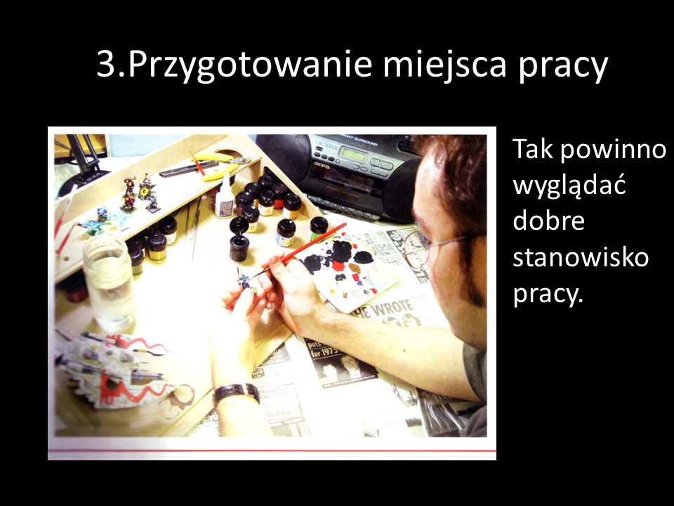 #.3.Przygotowanie miejsca pracy
