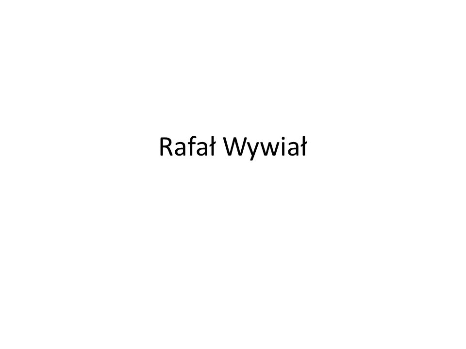 Rafał Wywiał