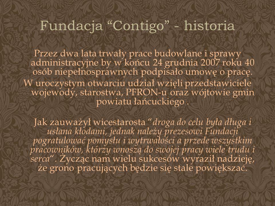 Fundacja Contigo - historia