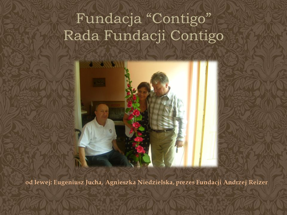 Fundacja Contigo Rada Fundacji Contigo
