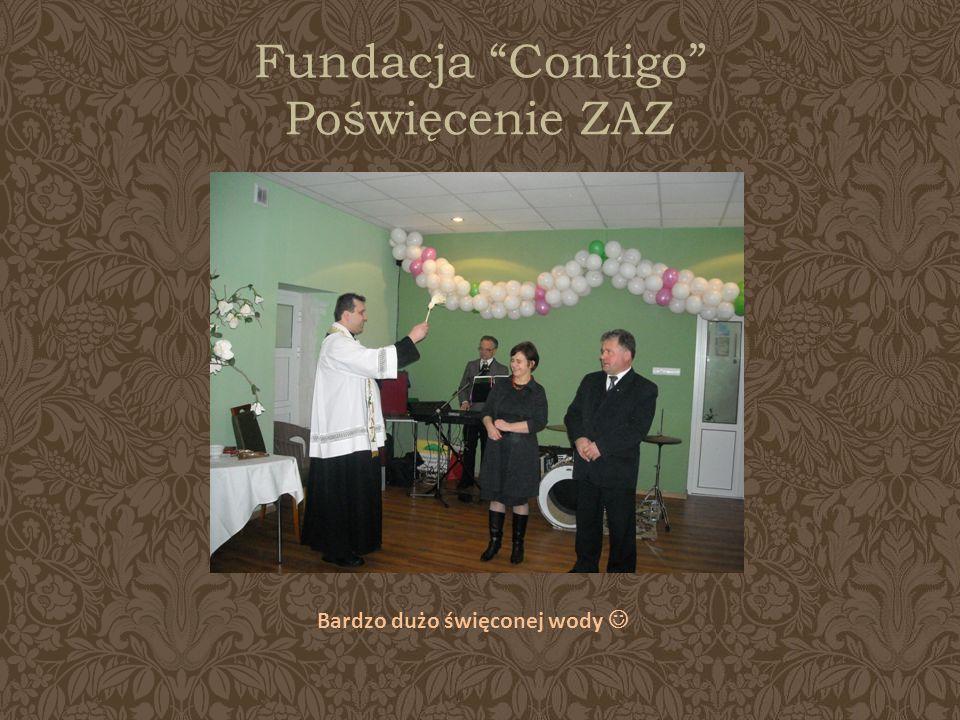 Fundacja Contigo Poświęcenie ZAZ