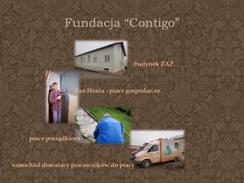 Fundacja Contigo budynek ZAZ Pan Heniu –prace gospodarcze