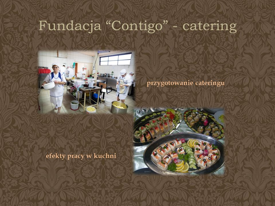 Fundacja Contigo - catering