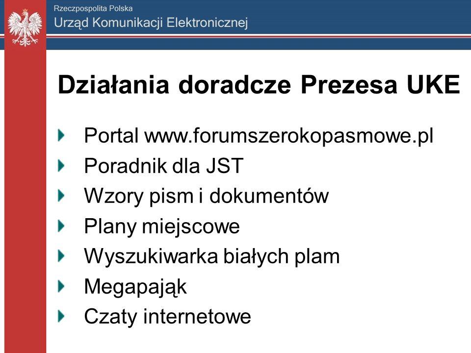 Działania doradcze Prezesa UKE