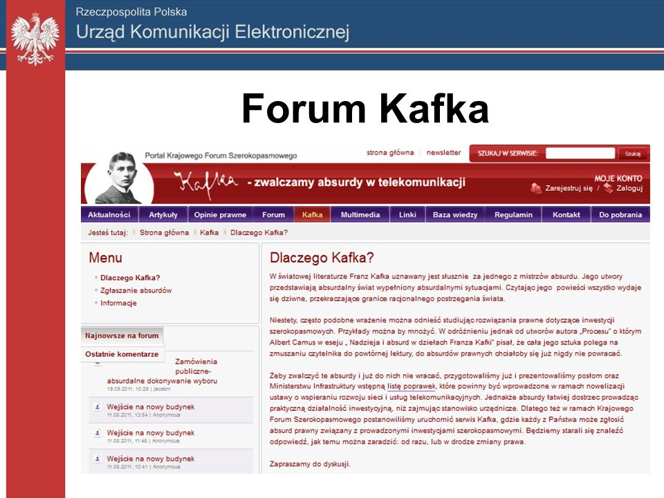 Forum Kafka
