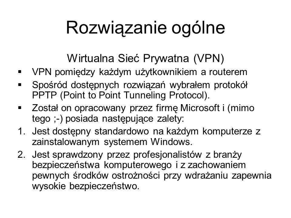 Wirtualna Sieć Prywatna (VPN)