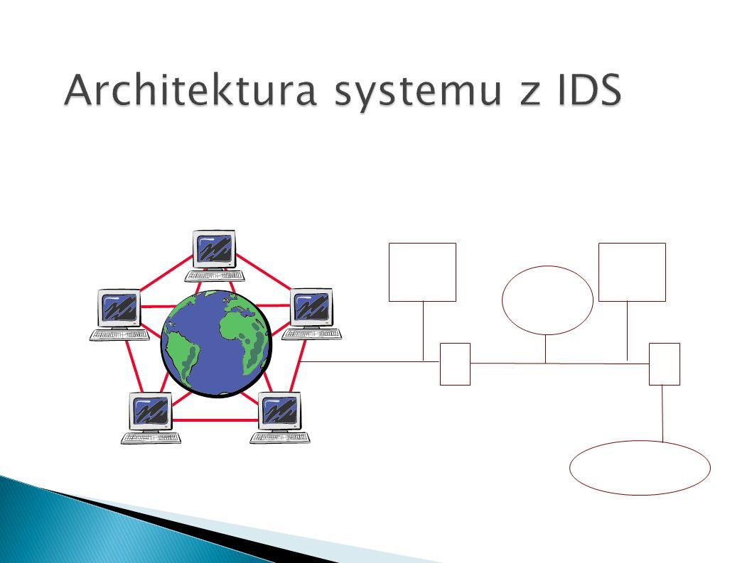 Architektura systemu z IDS