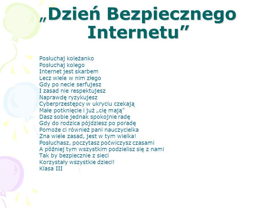 """""""Dzień Bezpiecznego Internetu"""