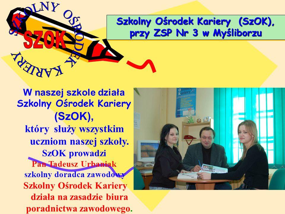 Szkolny Ośrodek Kariery (SzOK), przy ZSP Nr 3 w Myśliborzu