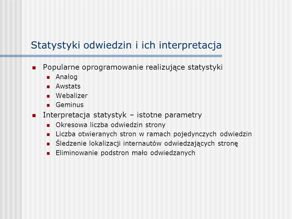Statystyki odwiedzin i ich interpretacja
