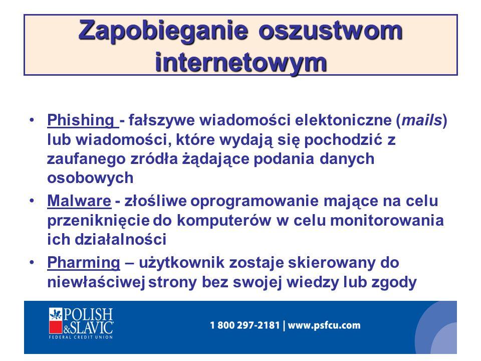 Zapobieganie oszustwom internetowym