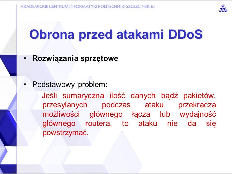 Obrona przed atakami DDoS