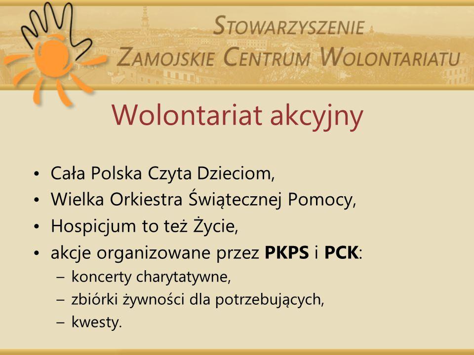 Wolontariat akcyjny Cała Polska Czyta Dzieciom,