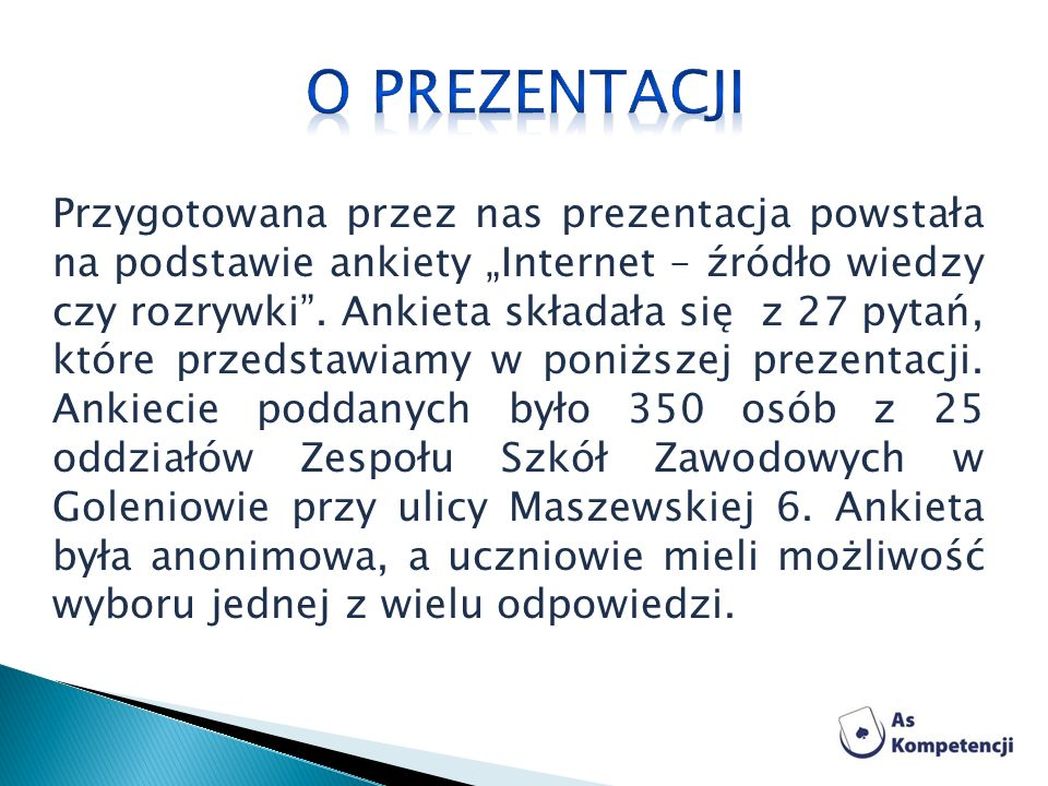 O prezentacji