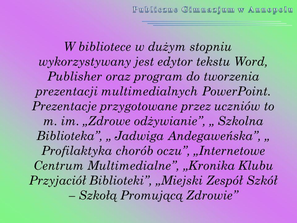 Publiczne Gimnazjum w Annopolu