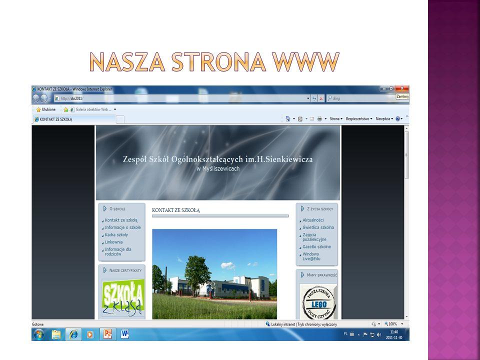 Nasza strona www