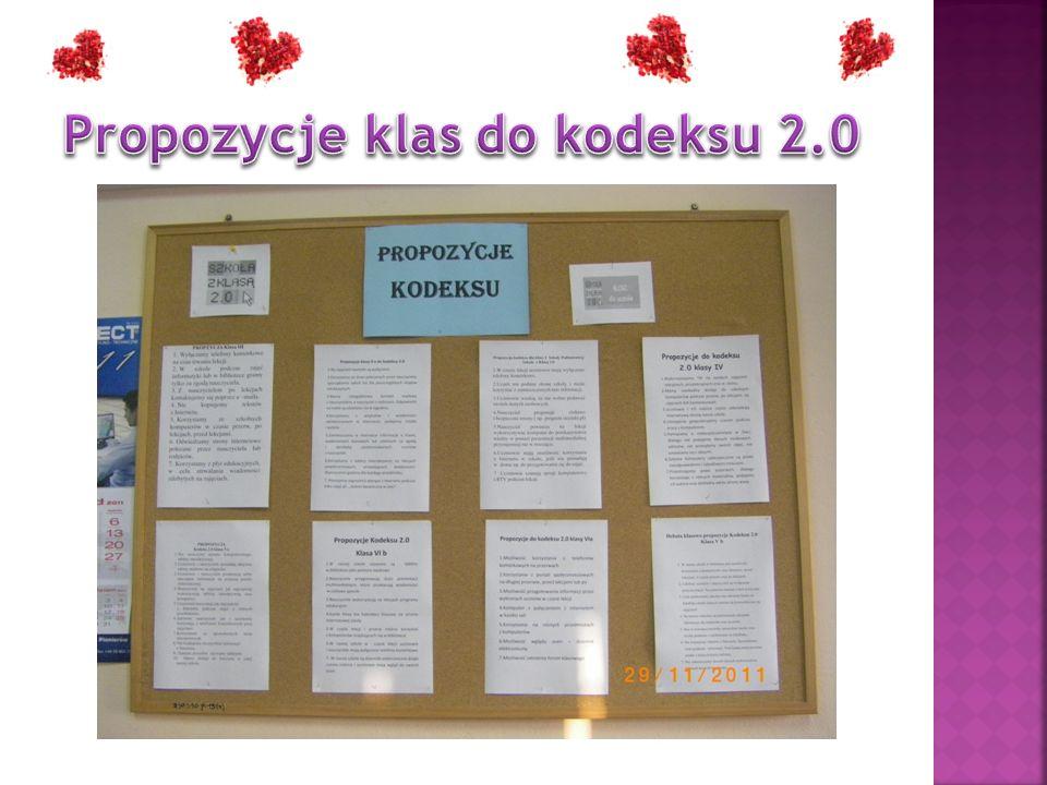 Propozycje klas do kodeksu 2.0
