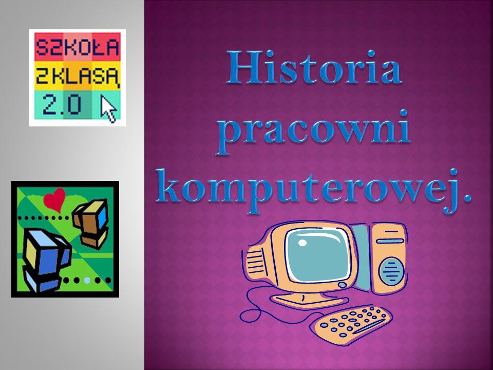 Historia pracowni komputerowej.