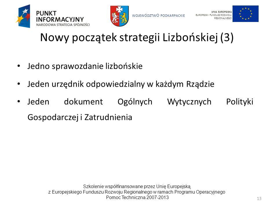 Nowy początek strategii Lizbońskiej (3)