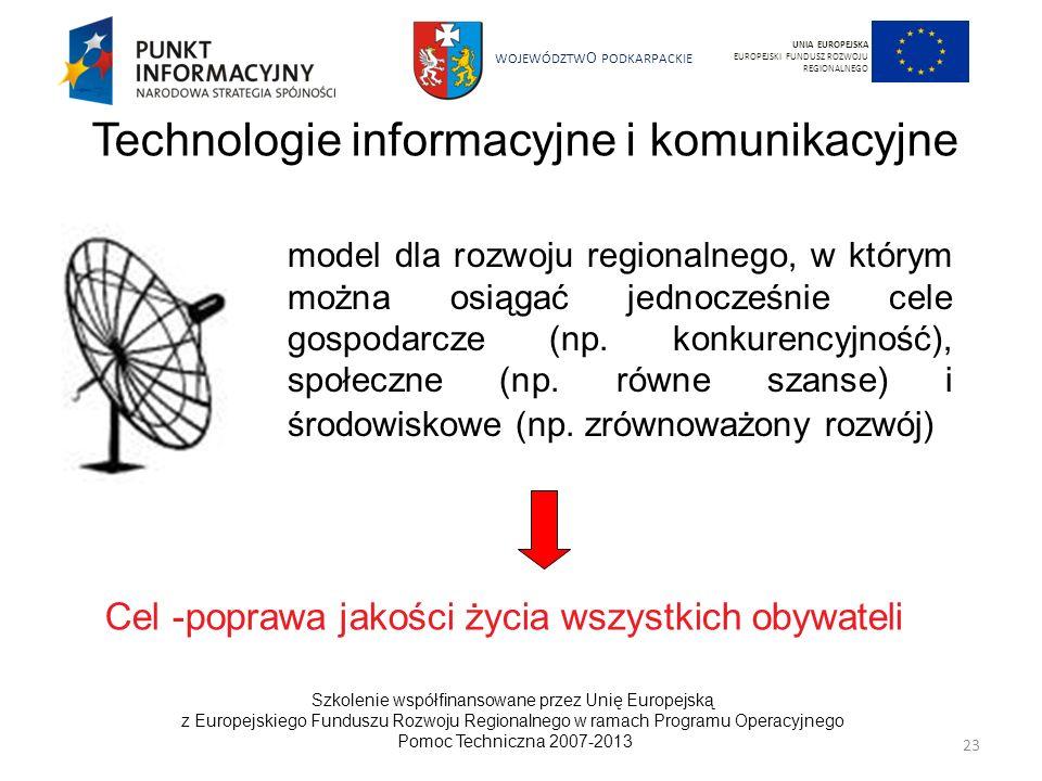 Technologie informacyjne i komunikacyjne