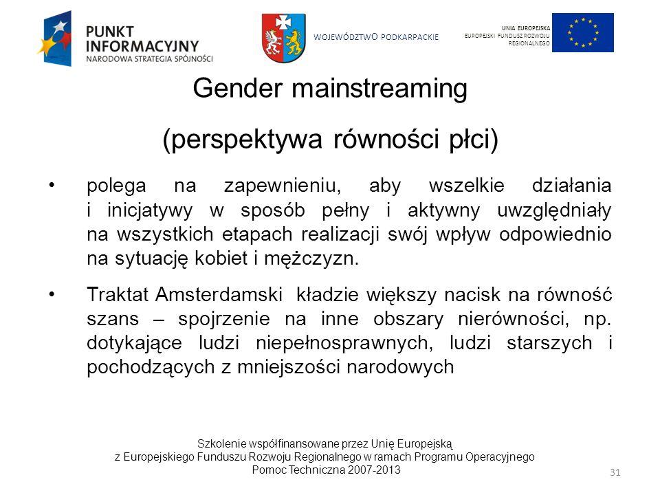 (perspektywa równości płci)
