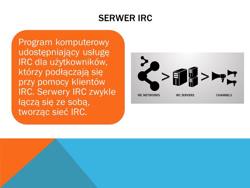 Serwer irc