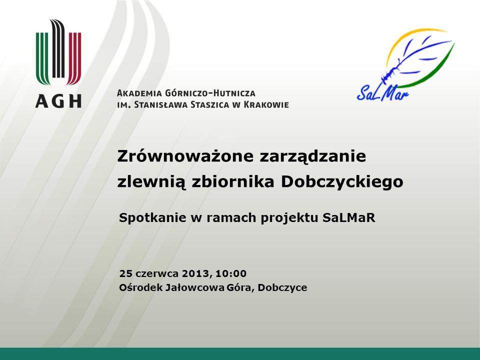 Zrównoważone zarządzanie zlewnią zbiornika Dobczyckiego