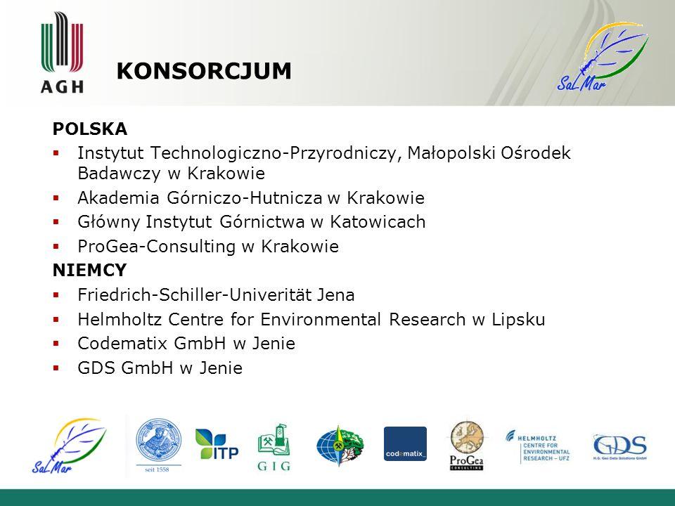 KONSORCJUM POLSKA. Instytut Technologiczno-Przyrodniczy, Małopolski Ośrodek Badawczy w Krakowie. Akademia Górniczo-Hutnicza w Krakowie.