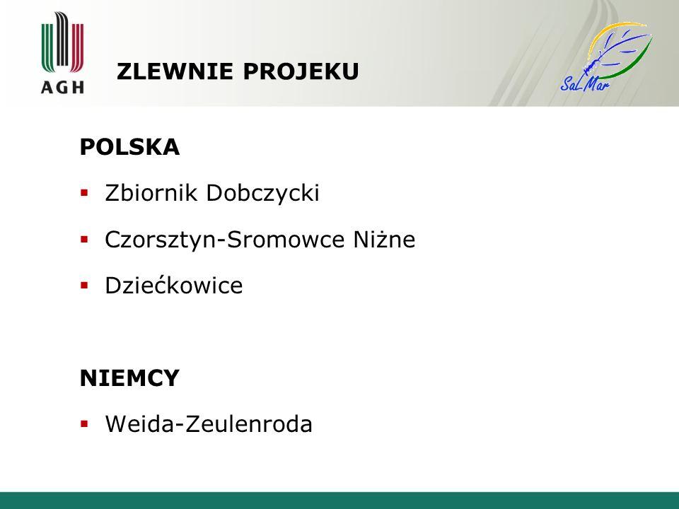 ZLEWNIE PROJEKU POLSKA. Zbiornik Dobczycki. Czorsztyn-Sromowce Niżne.