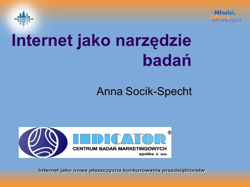 Internet jako narzędzie badań