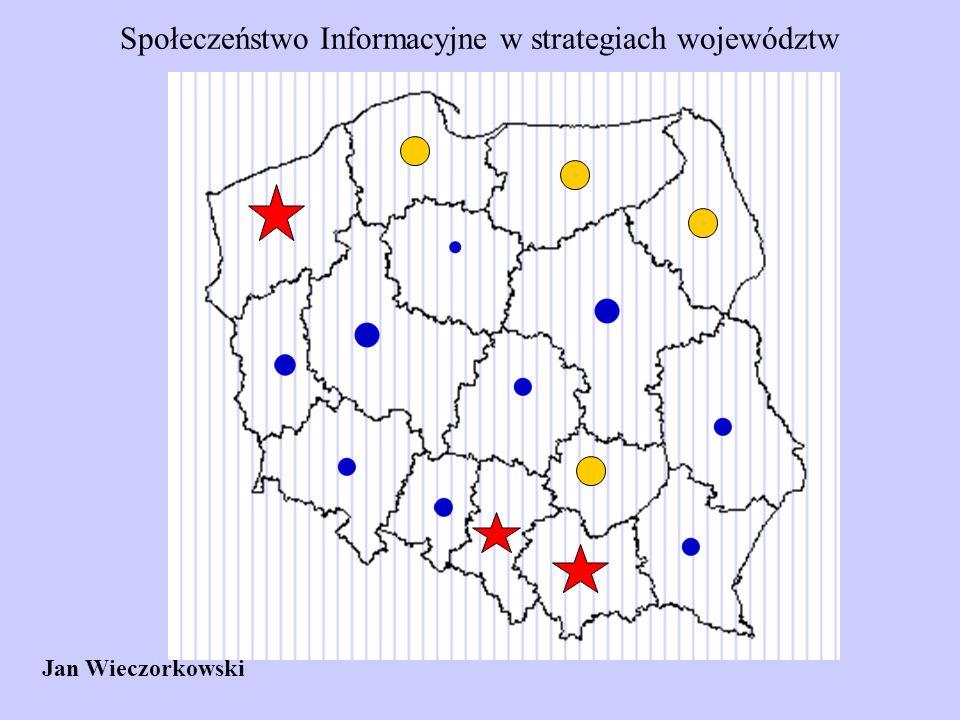 Społeczeństwo Informacyjne w strategiach województw