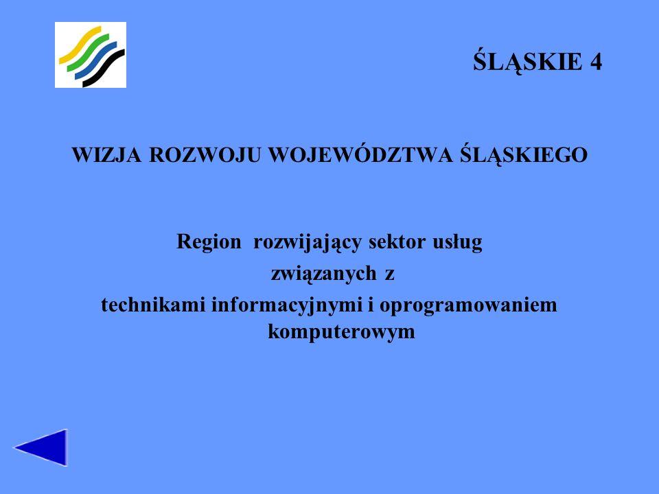 Region rozwijający sektor usług