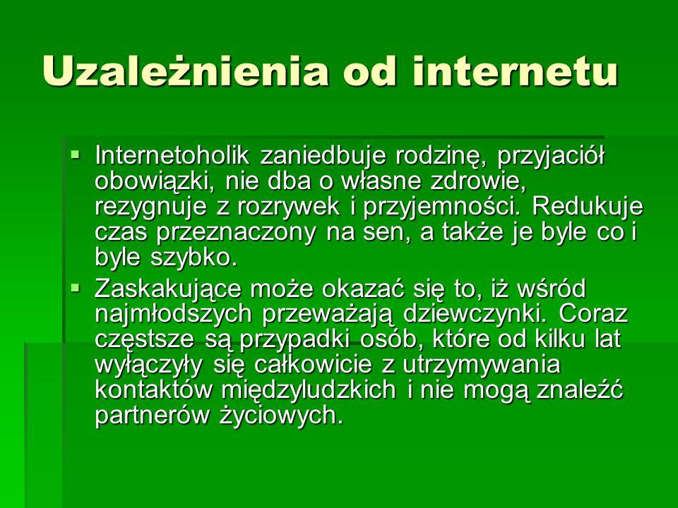 Uzależnienia od internetu