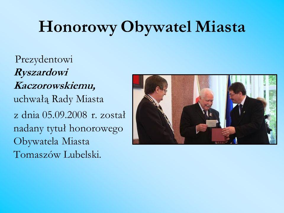 Honorowy Obywatel Miasta