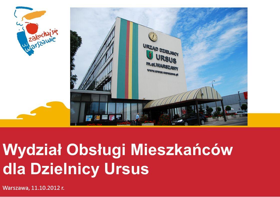 Wydział Obsługi Mieszkańców dla Dzielnicy Ursus