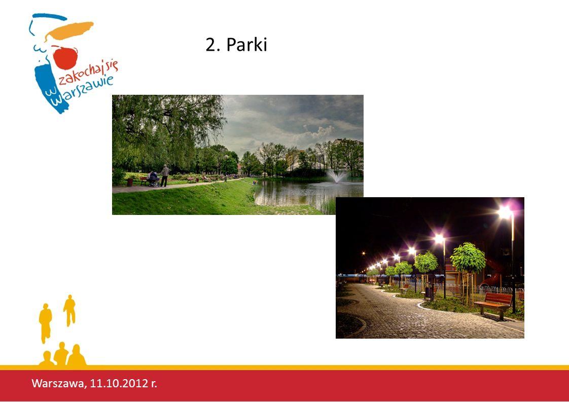 2. Parki Warszawa, 11.10.2012 r.