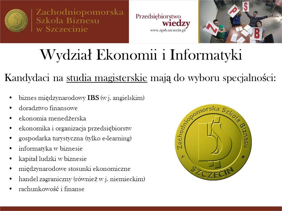 Wydział Ekonomii i Informatyki