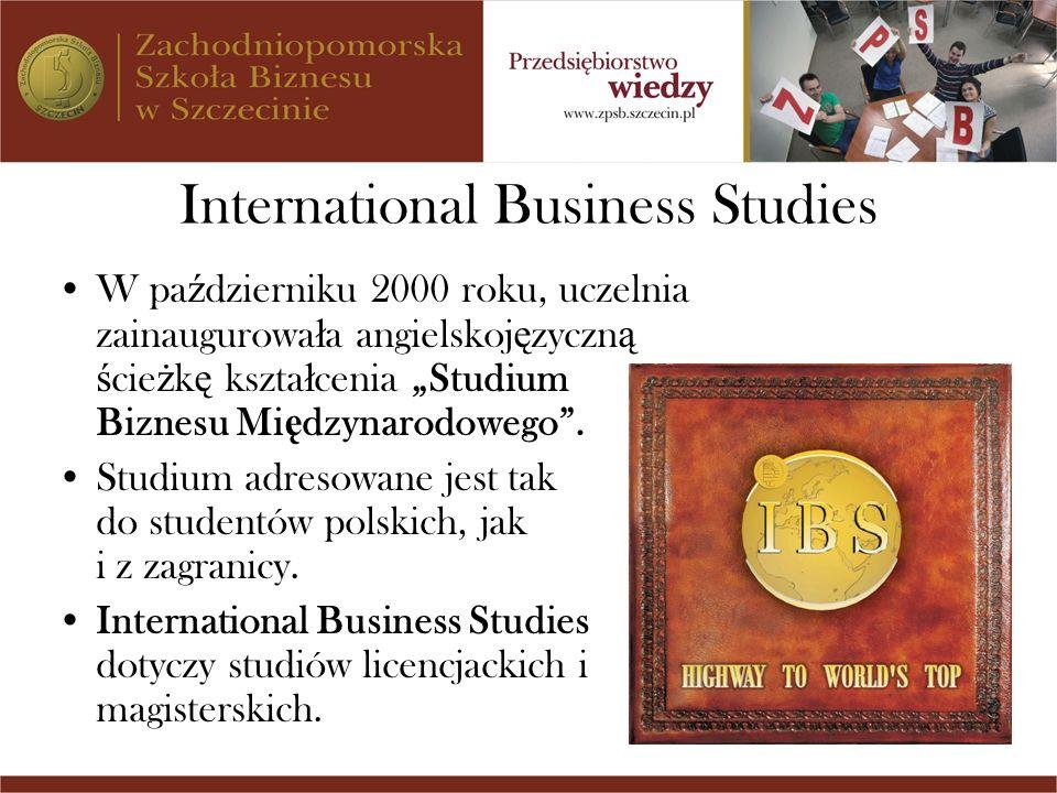 International Business Studies