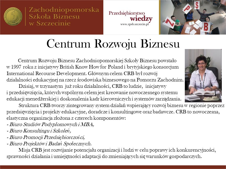 Centrum Rozwoju Biznesu