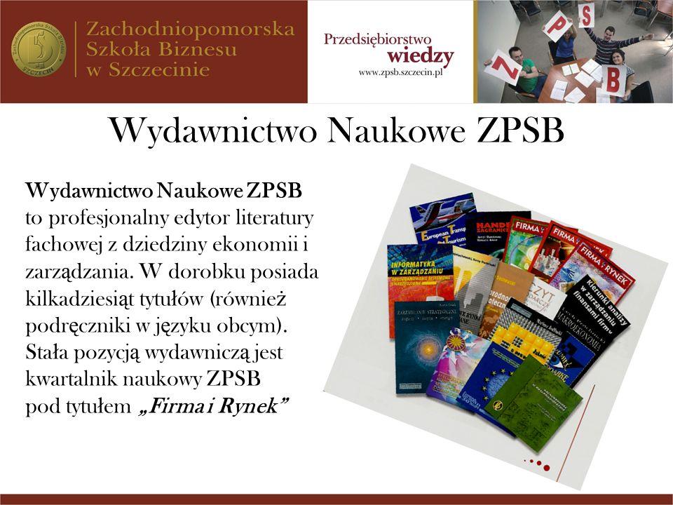 Wydawnictwo Naukowe ZPSB