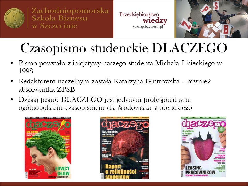 Czasopismo studenckie DLACZEGO