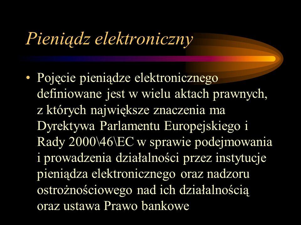 Pieniądz elektroniczny